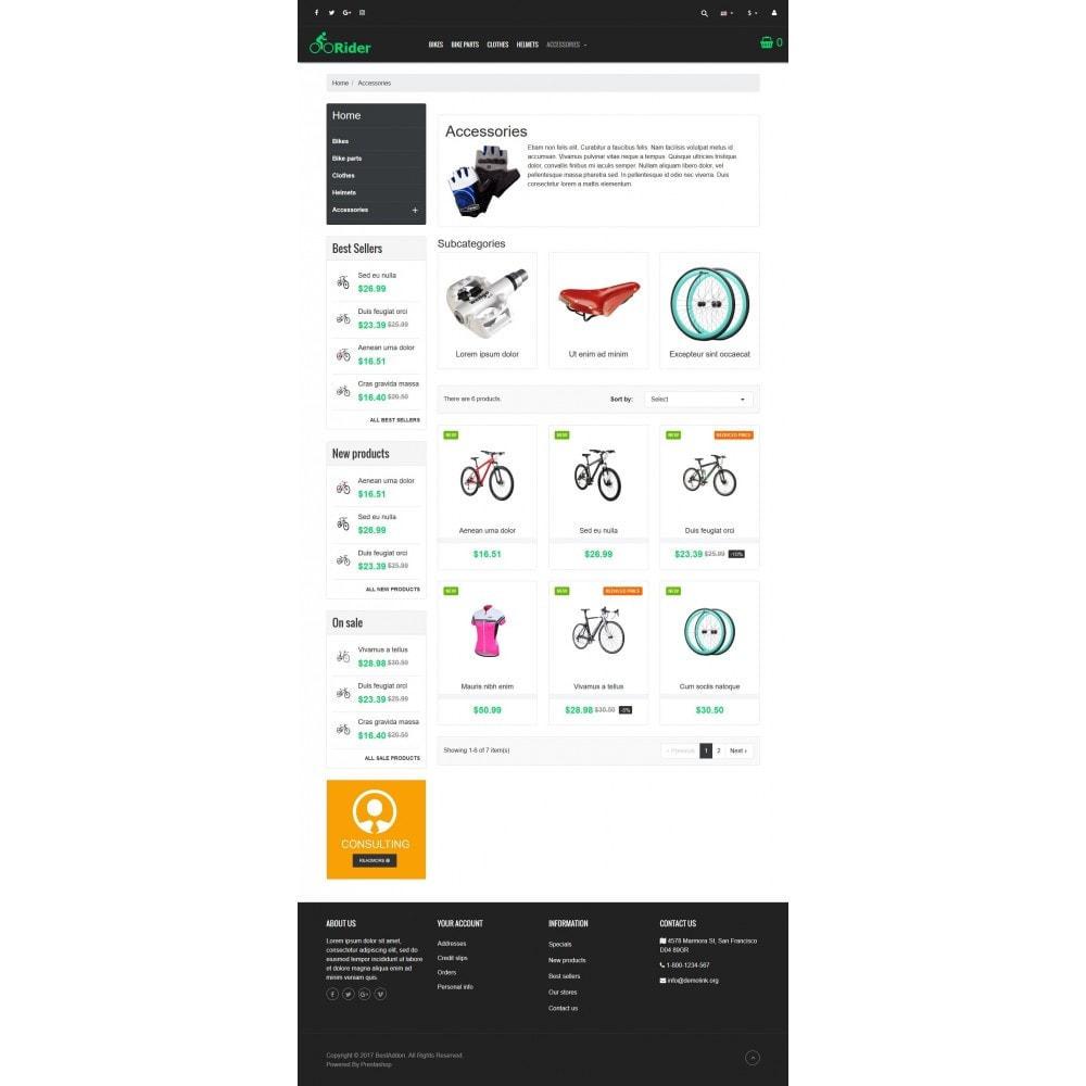 theme - Sport, Aktivitäten & Reise - VP_Rider - Page Builder - 3