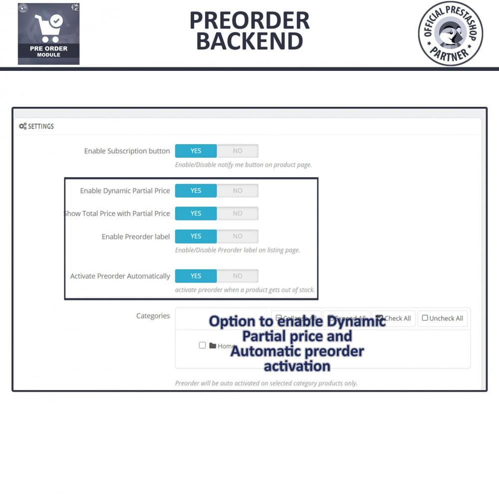 module - Cadastro e Processo de Pedido - Pre-Order - Advance Pre-Order Booking - 14