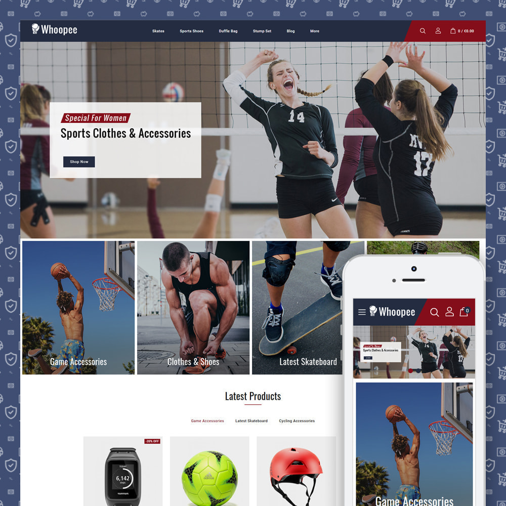 theme - Sports, Activities & Travel - Whoopee - Sport Store - 1