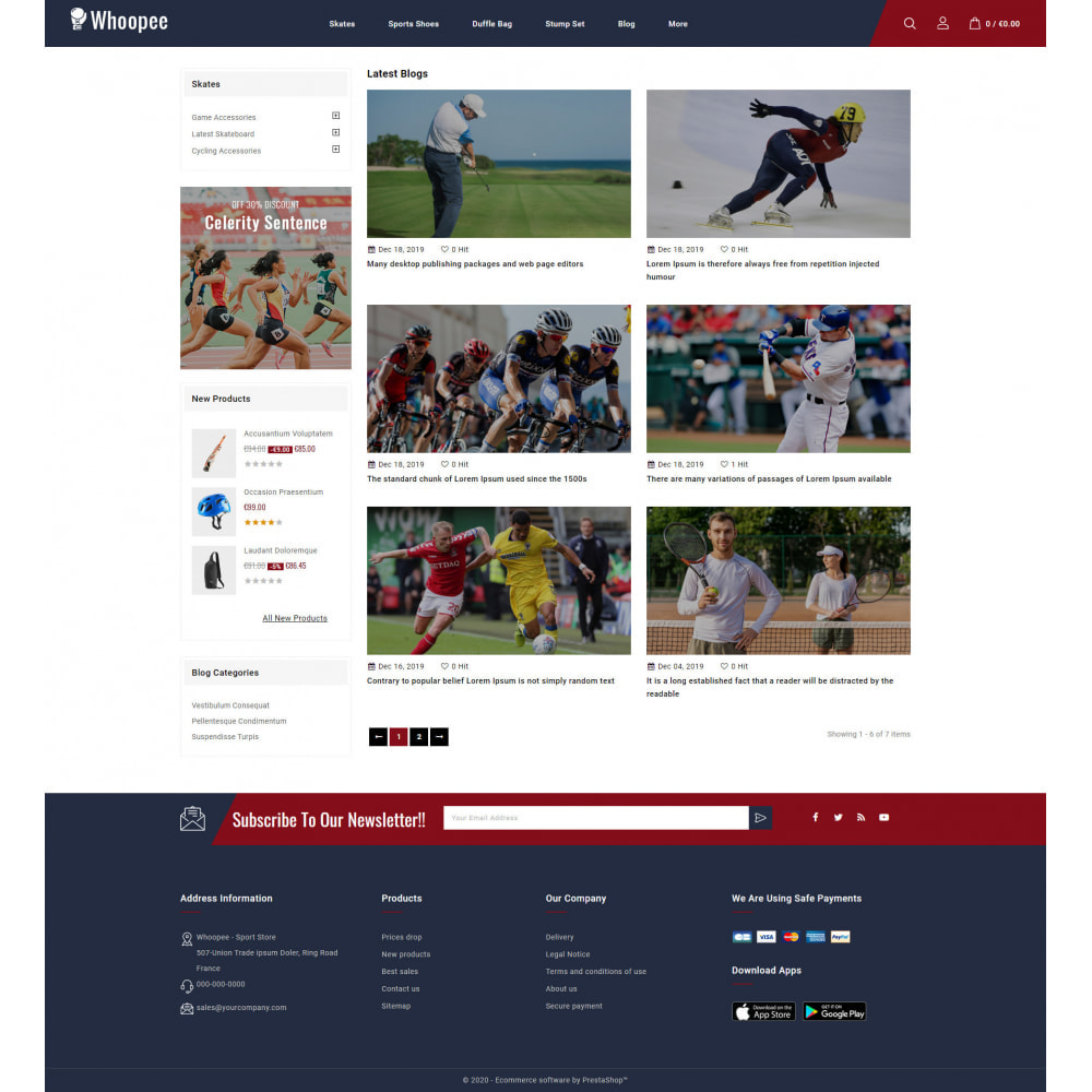 theme - Sports, Activities & Travel - Whoopee - Sport Store - 9