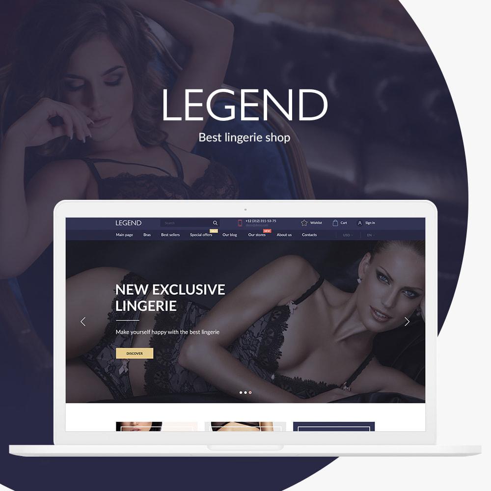 theme - Lenceria y Adultos - Legend - 1