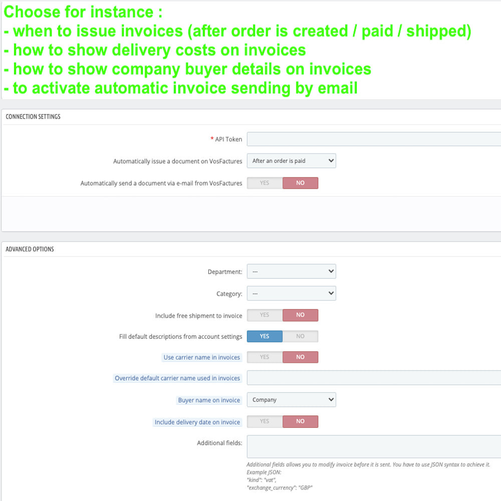 module - Contabilità & Fatturazione - VosFactures - Invoicing Multifunction - 4