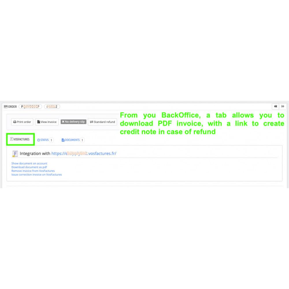module - Contabilità & Fatturazione - VosFactures - Invoicing Multifunction - 5
