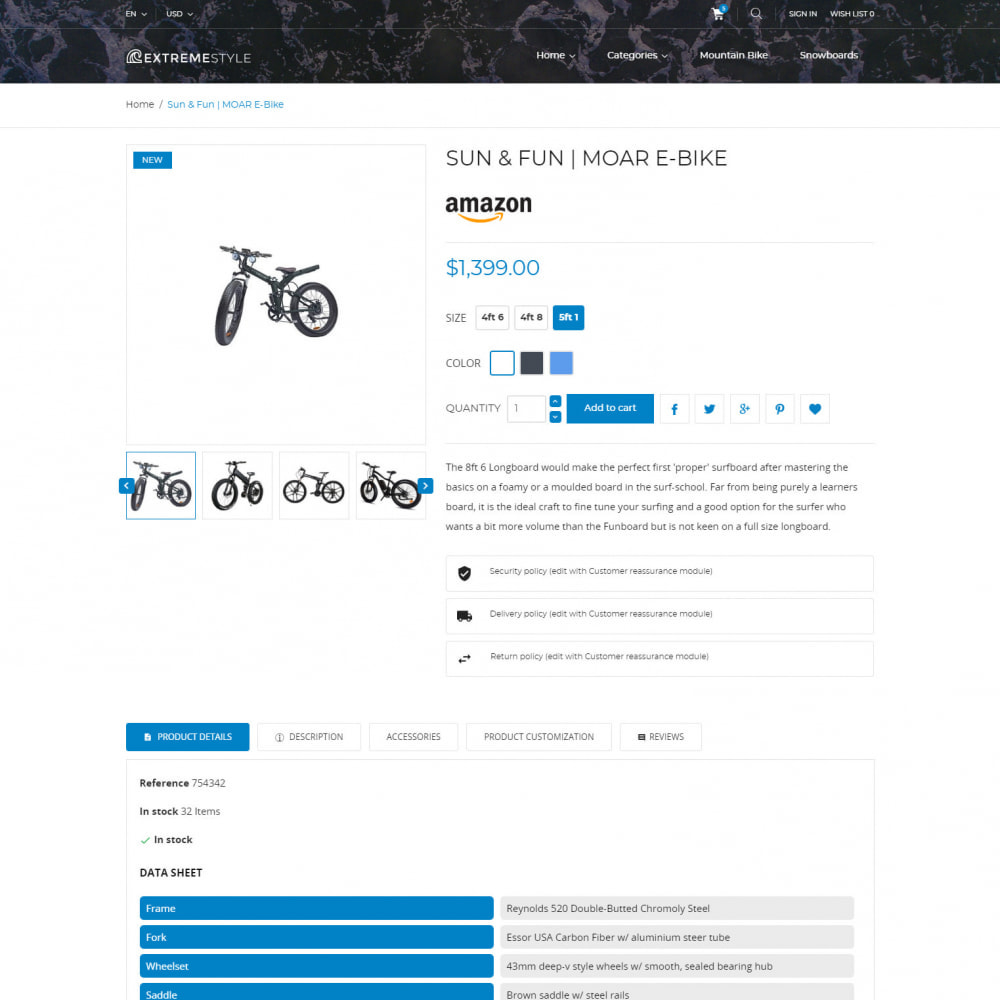 theme - Sports, Activities & Travel - ExtremeLife - Sport Store - 4