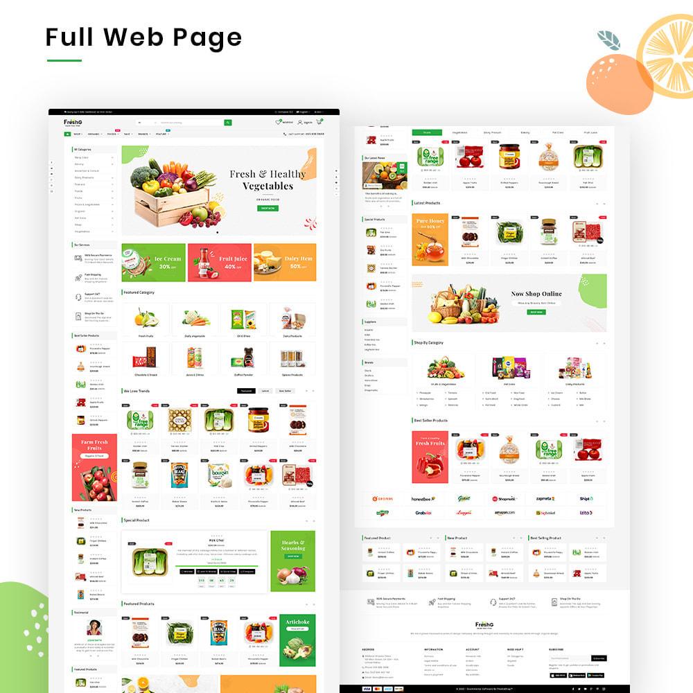 theme - Żywność & Restauracje - FreshG Mega Grocery–Food Drink–Coffee Super Store v3 - 2