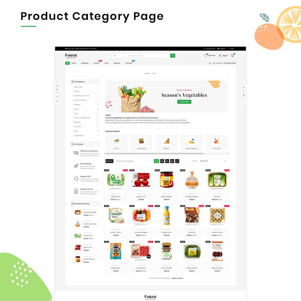 theme - Żywność & Restauracje - FreshG Mega Grocery–Food Drink–Coffee Super Store v3 - 3
