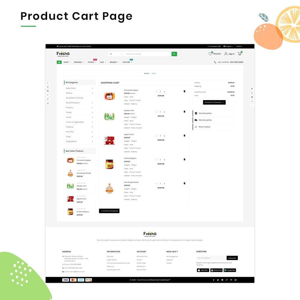 theme - Żywność & Restauracje - FreshG Mega Grocery–Food Drink–Coffee Super Store v3 - 5