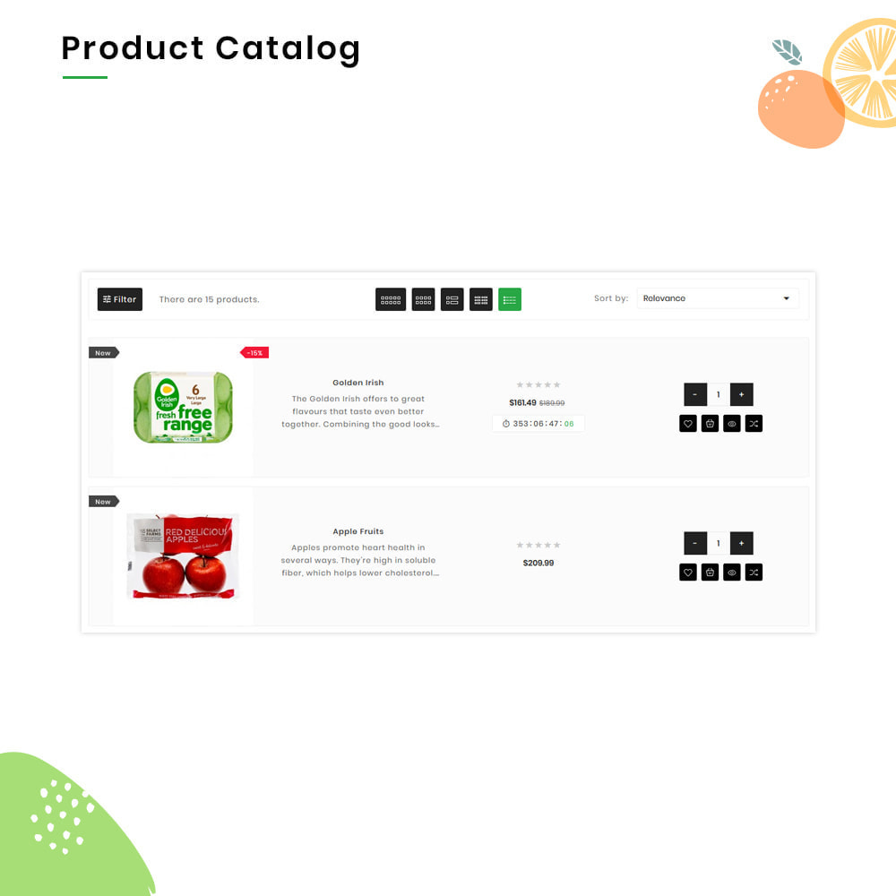 theme - Żywność & Restauracje - FreshG Mega Grocery–Food Drink–Coffee Super Store v3 - 12