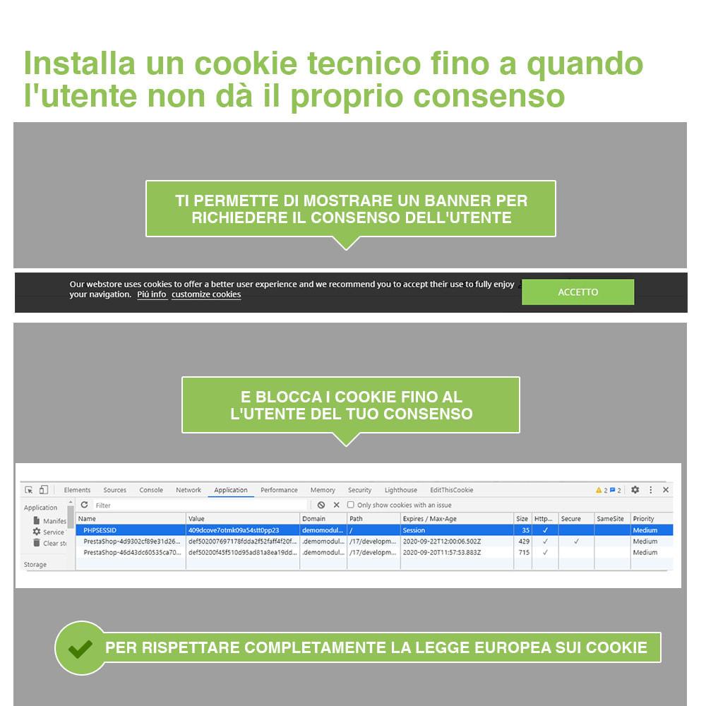 module - Legale (Legge Europea) - Legge Cookies RGPD (Avviso + Blocker) - Upgrade 2021 - 3