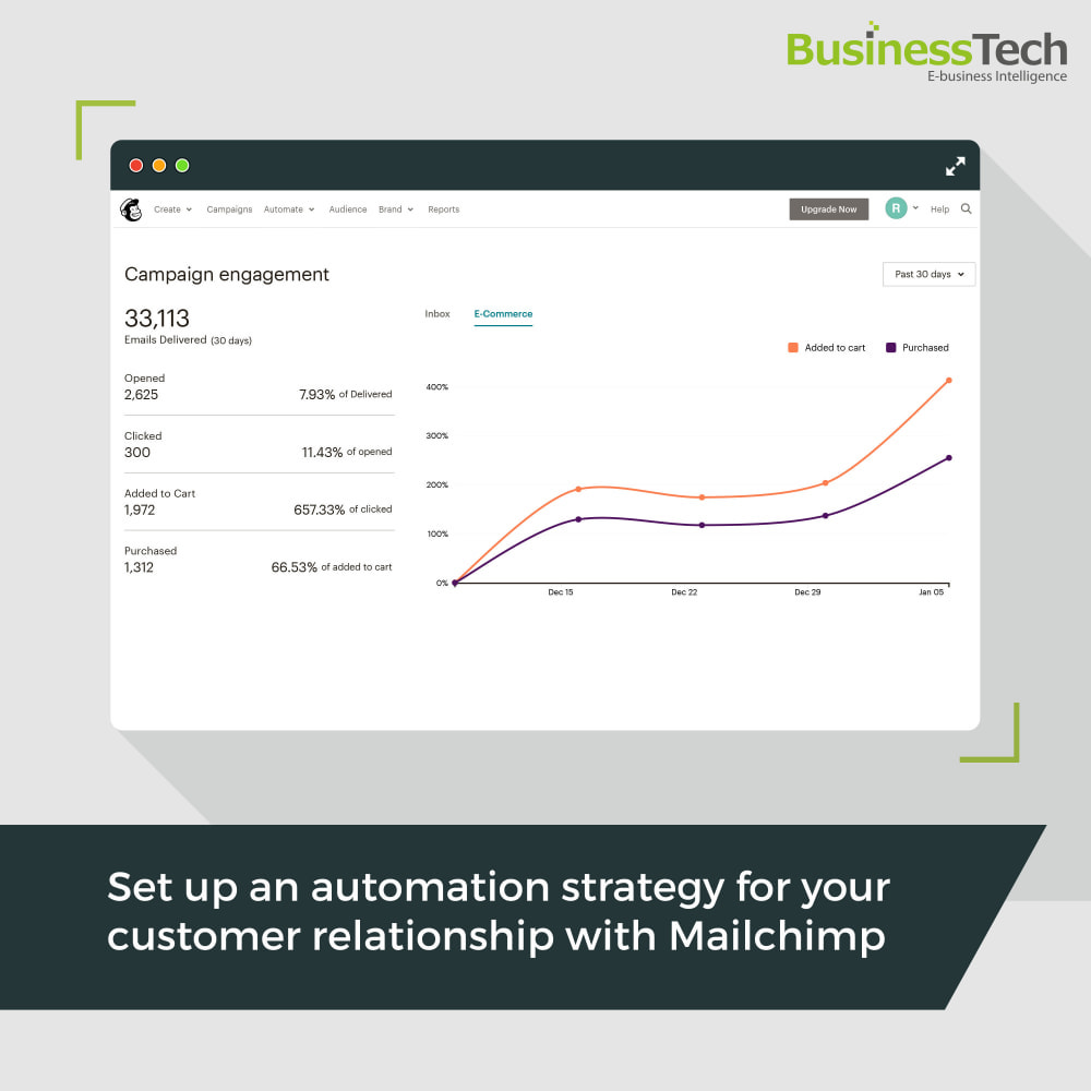 module - Перенаправление и Брошенные корзины - Newsletter & Marketing automation with Mailchimp - 1