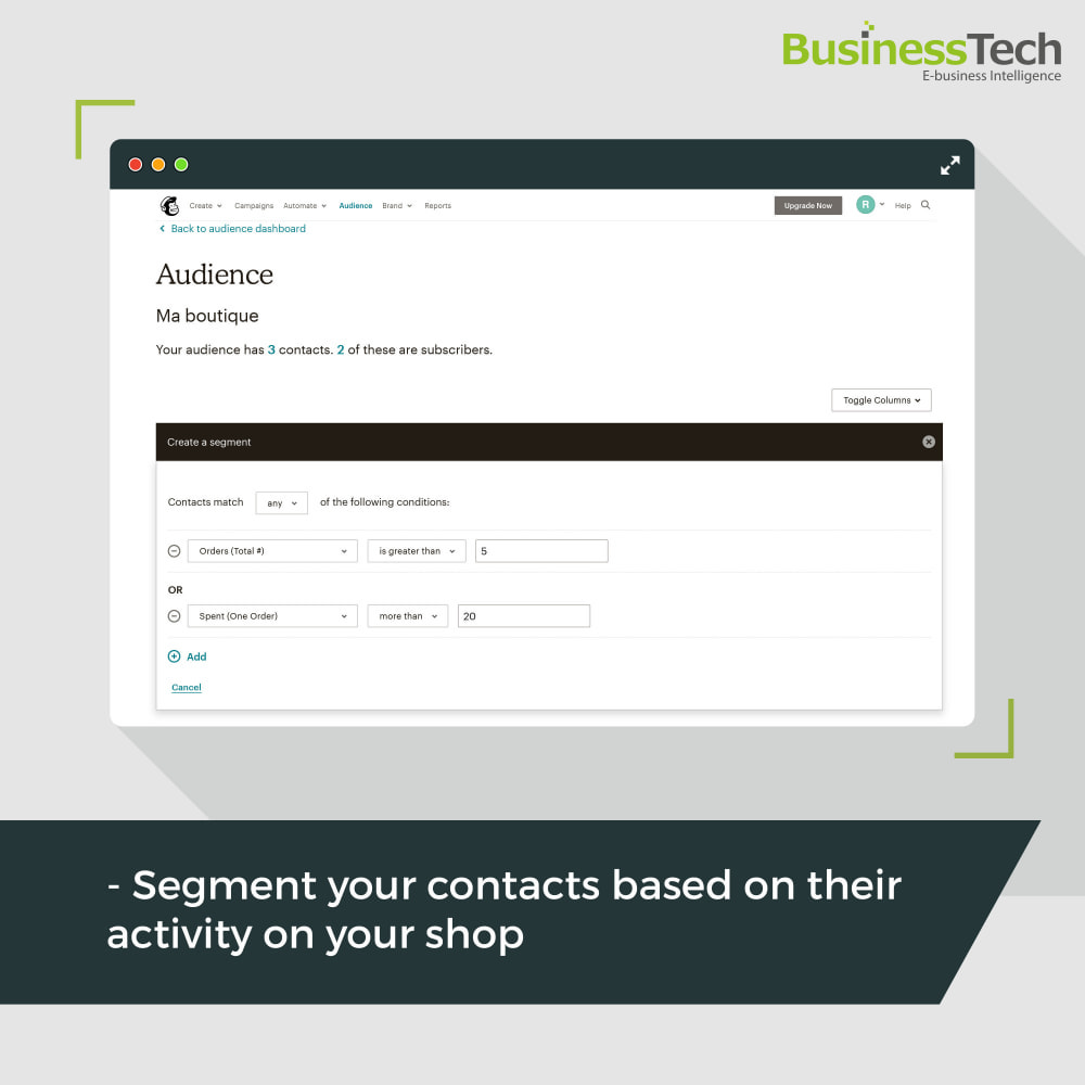 module - Перенаправление и Брошенные корзины - Newsletter & Marketing automation with Mailchimp - 3