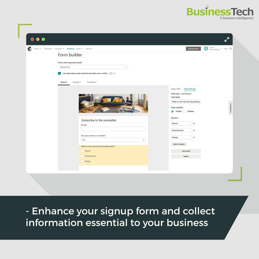 module - Перенаправление и Брошенные корзины - Newsletter & Marketing automation with Mailchimp - 6