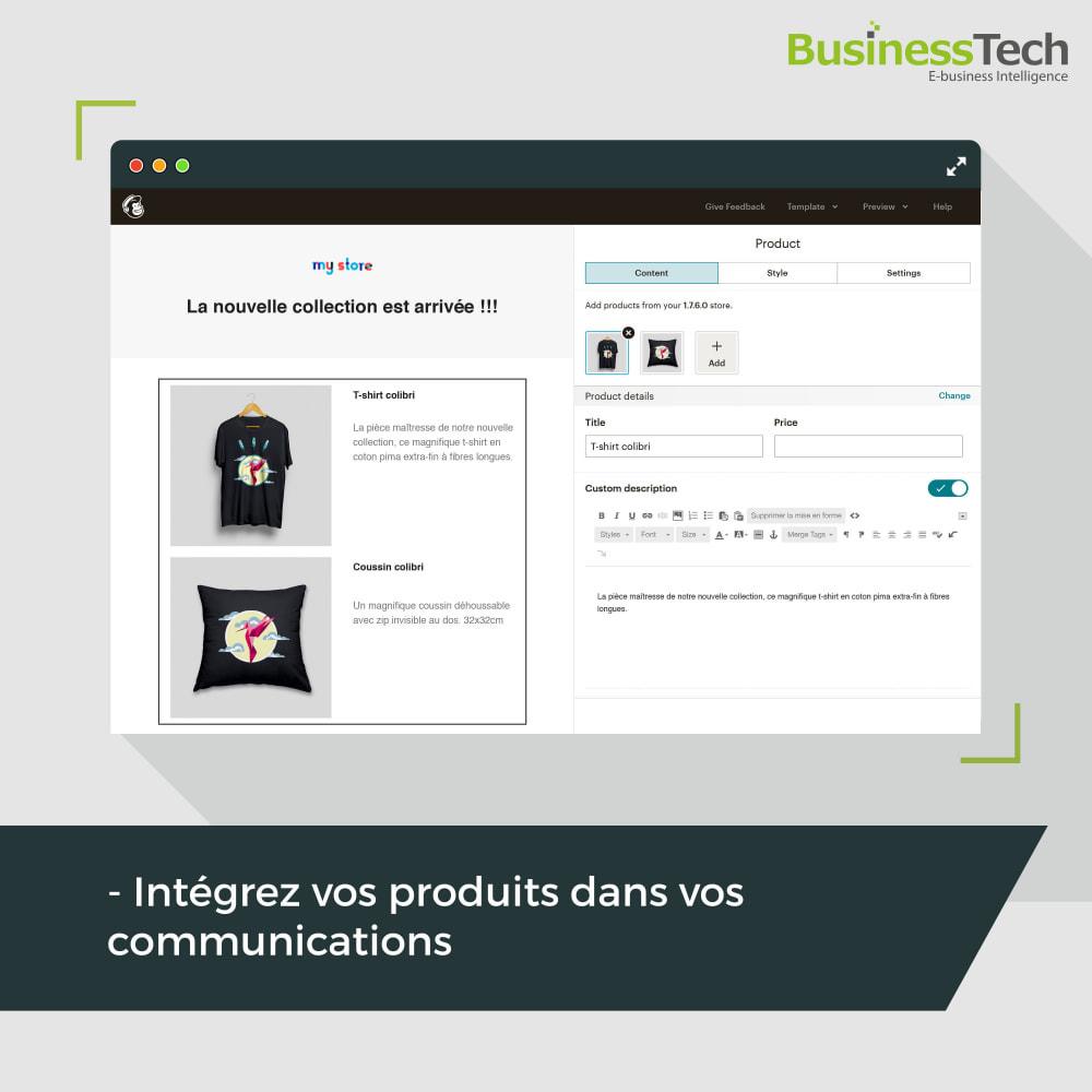 module - Remarketing & Paniers Abandonnés - Newsletter & Marketing automation avec Mailchimp - 4
