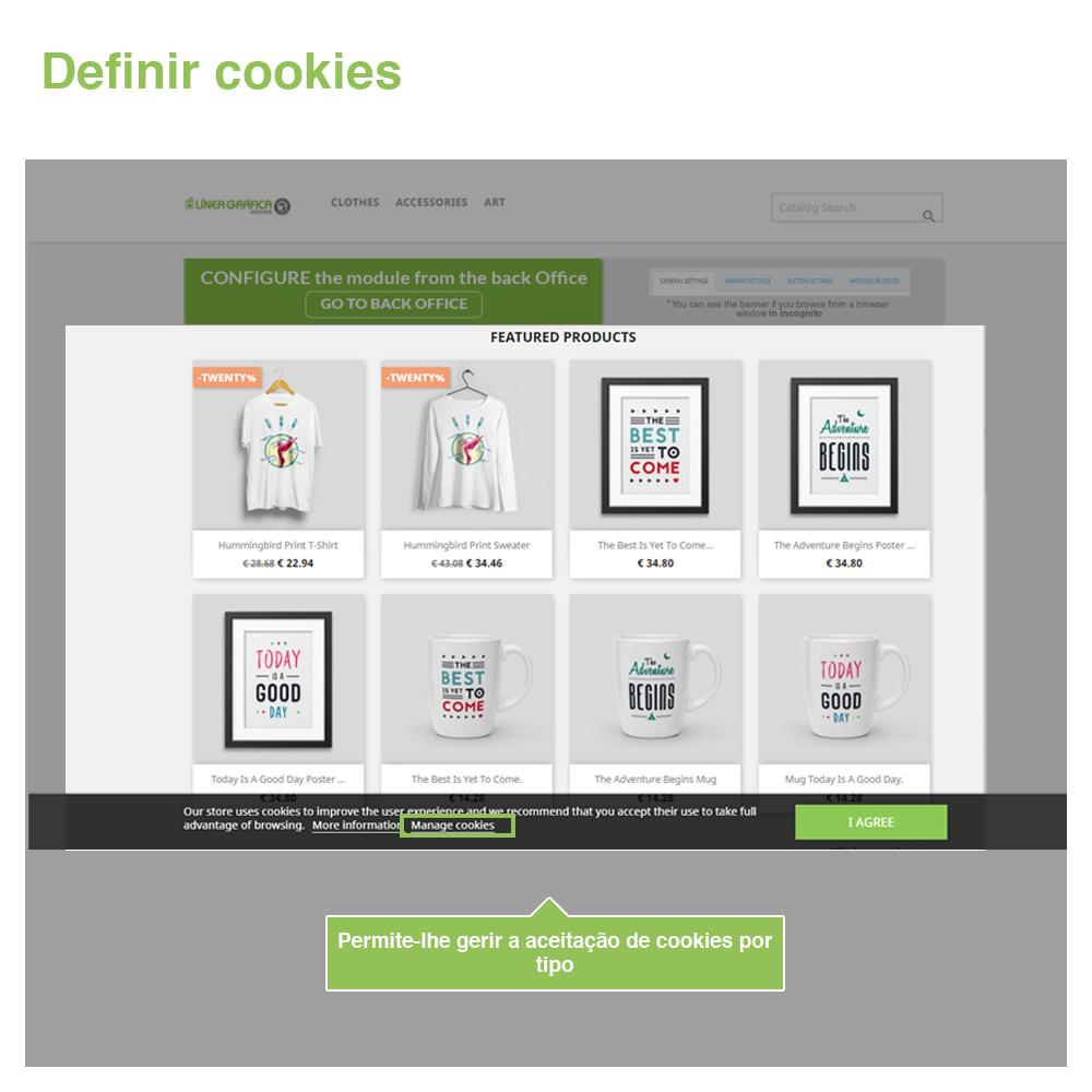 module - Jurídico - Lei Cookies GDPR (bandeira + bloqueador)- Melhoria 2021 - 4