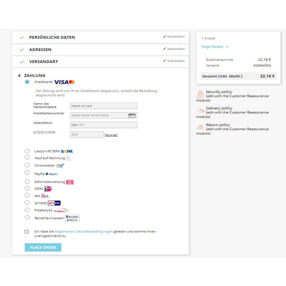 module - Zahlung per Kreditkarte oder Wallet - Novalnet Zahlung - 7