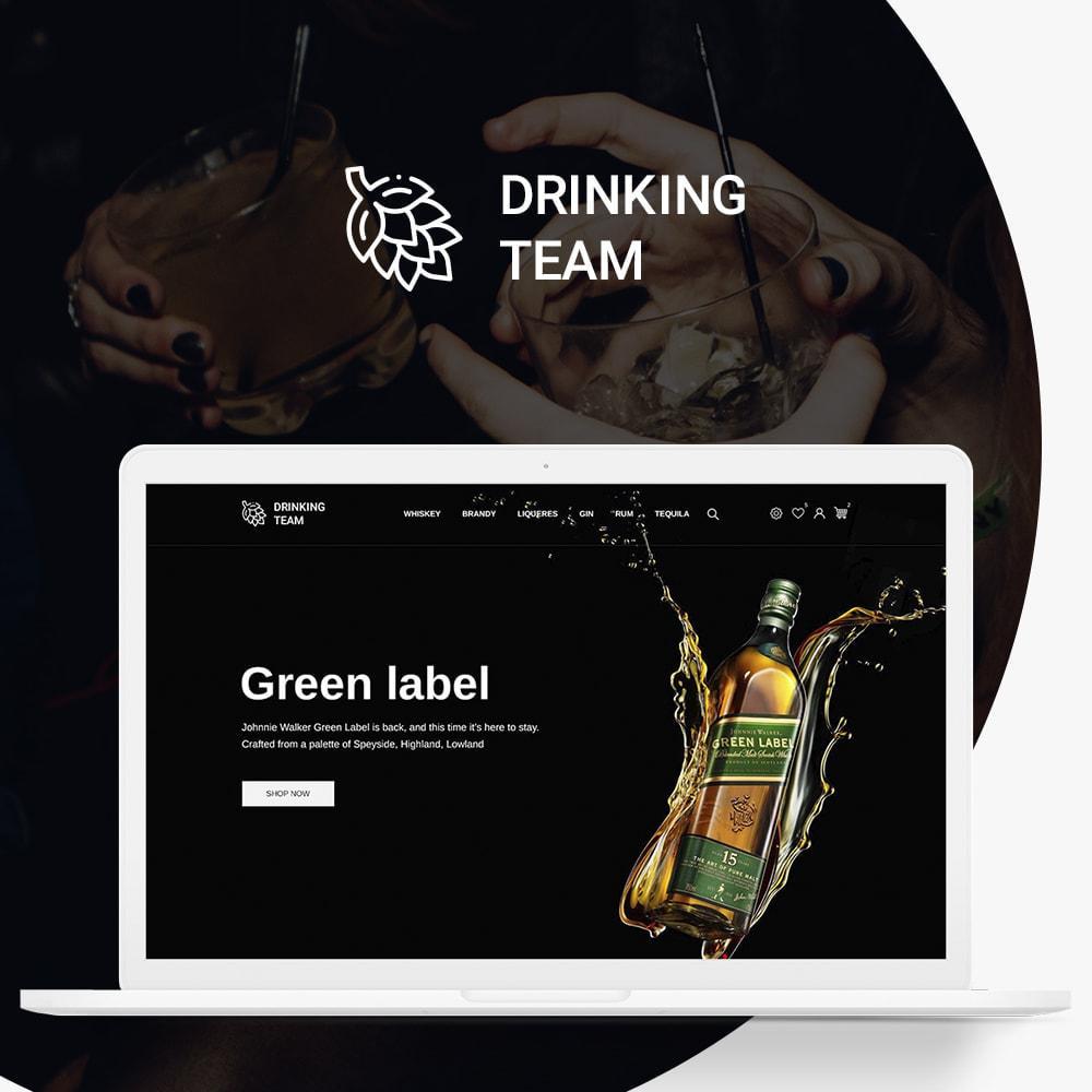 theme - Drink & Tobacco - Drinking team Shop - 1