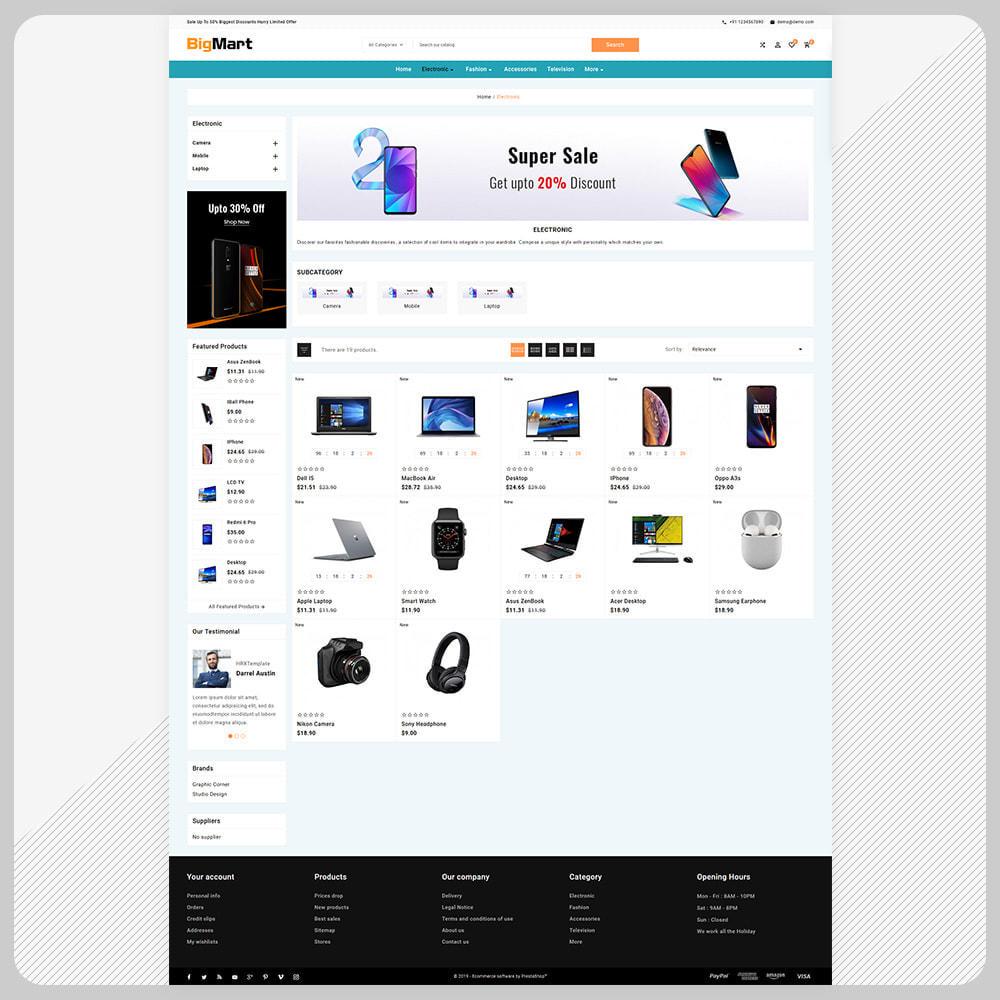 theme - Electronique & High Tech - Bigmart Electronic –Electronic Store - 3