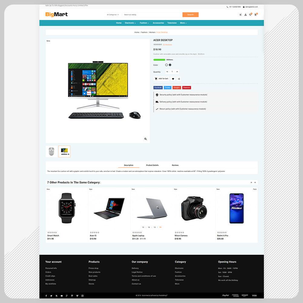 theme - Electronique & High Tech - Bigmart Electronic –Electronic Store - 4