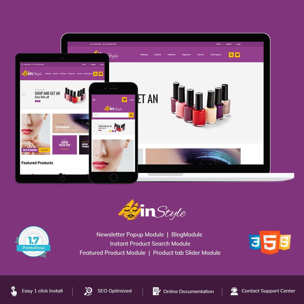 theme - Gezondheid & Schoonheid - Style - Fashion Clothes Apparels  Store - 1