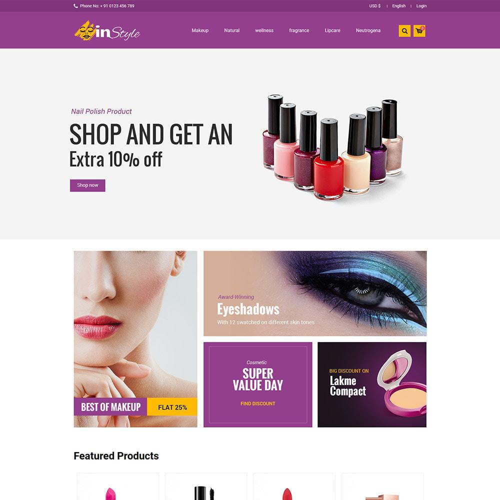 theme - Gezondheid & Schoonheid - Style - Fashion Clothes Apparels  Store - 2