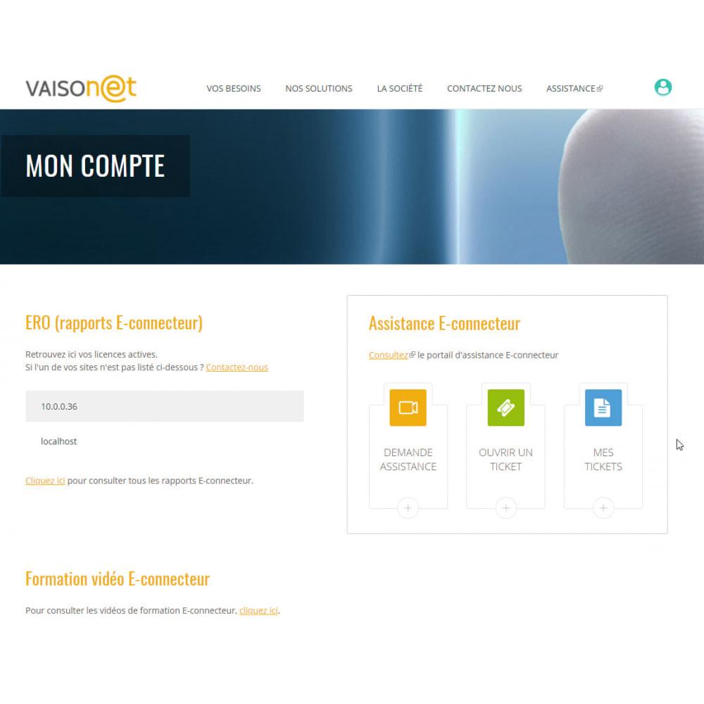 module - Administration - Econnecteur gestion commerciale EBP Sage Wavesoft Cegid - 2