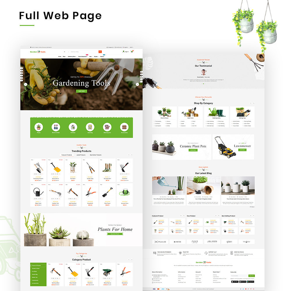 theme - Dom & Ogród - Gardening Mega Garden–Tools Blooming–Plants Store - 2