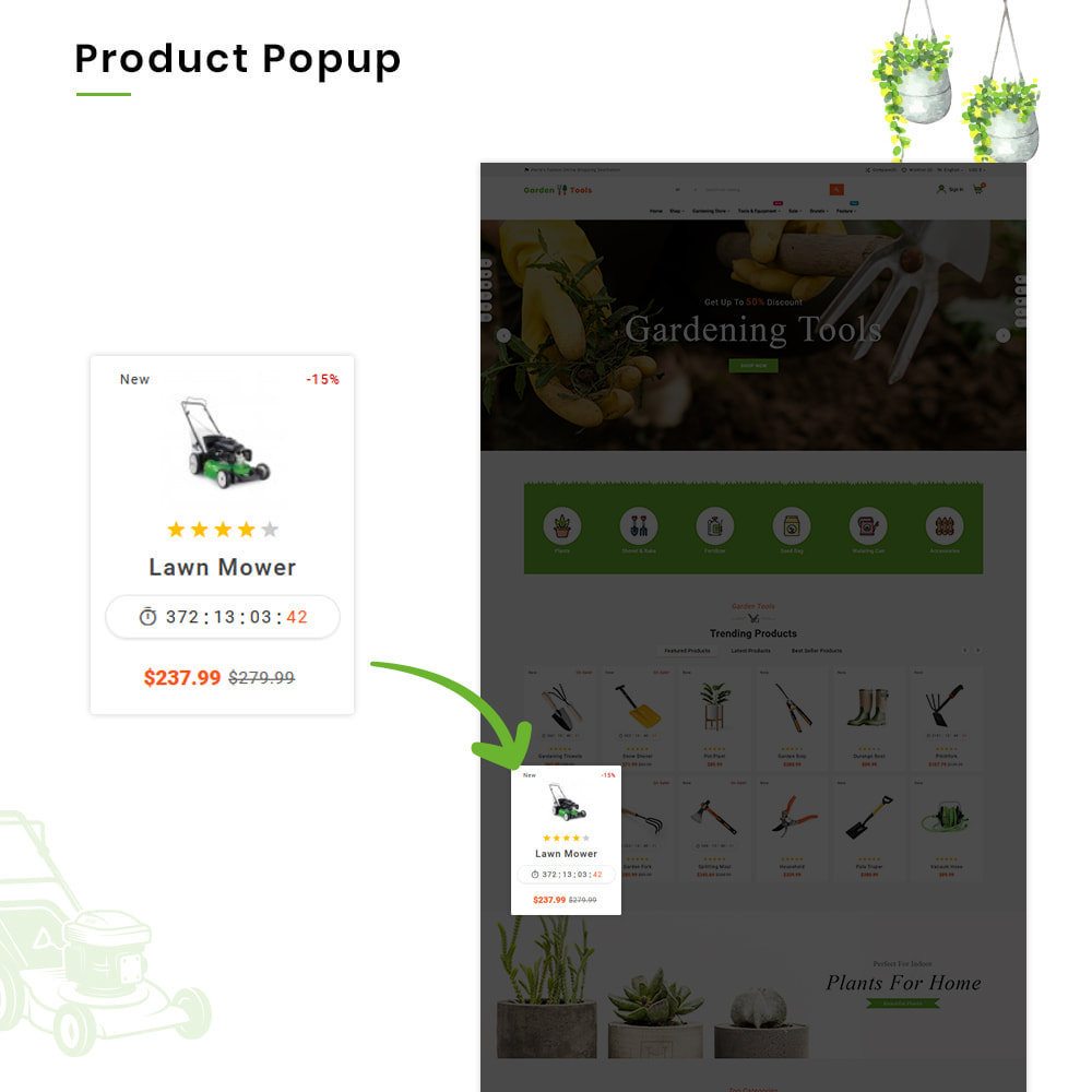 theme - Дом и сад - Gardening Mega Garden–Tools Super Store - 10