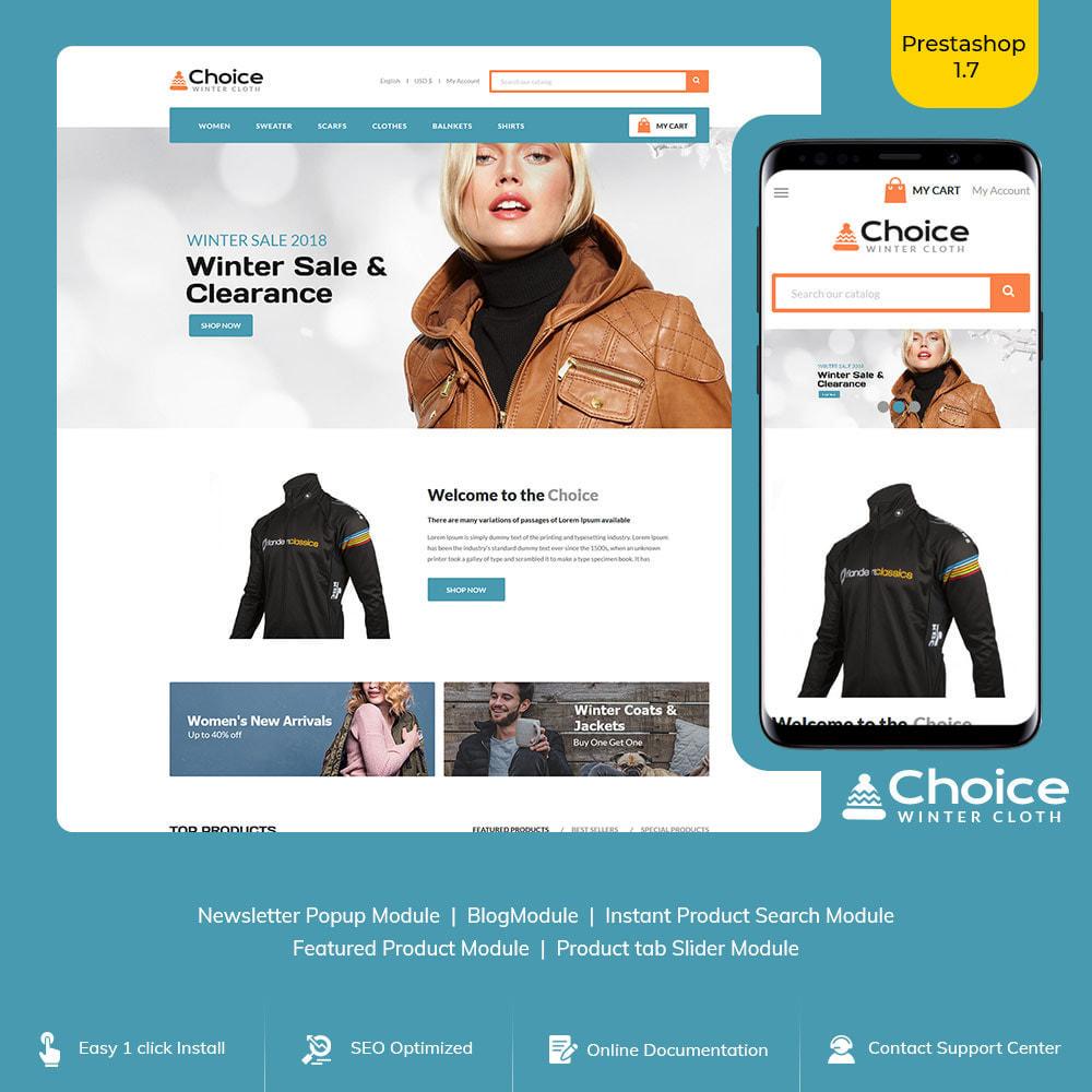 theme - Mode & Chaussures - Choice Bag - Magasin de costumes de mode - 1