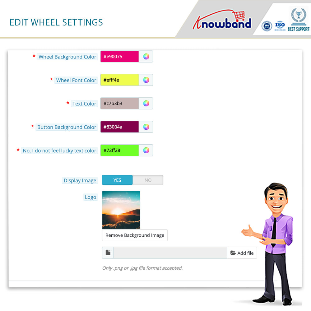 module - Promotions & Gifts - Knowband-Entry,Exit and Subscription Popup-Spin and Win - 7