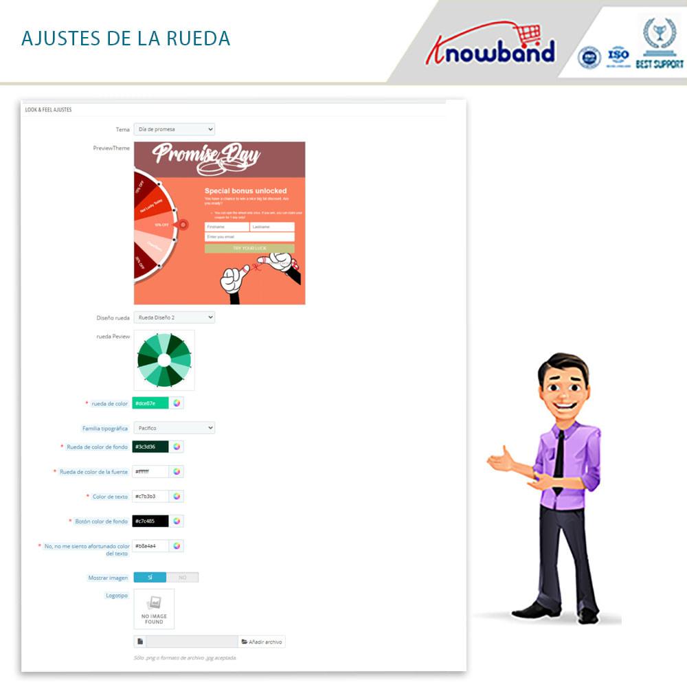 module - Promociones y Regalos - Knowband -Popup de Entrada y Suscripción - Gire y Gane - 11