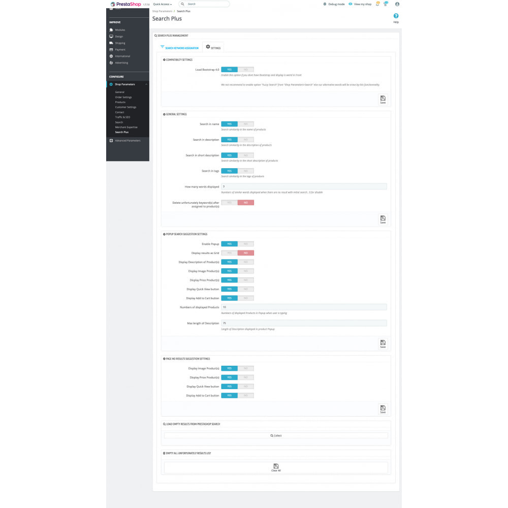module - Search & Filters - Classic Search Plus - 7