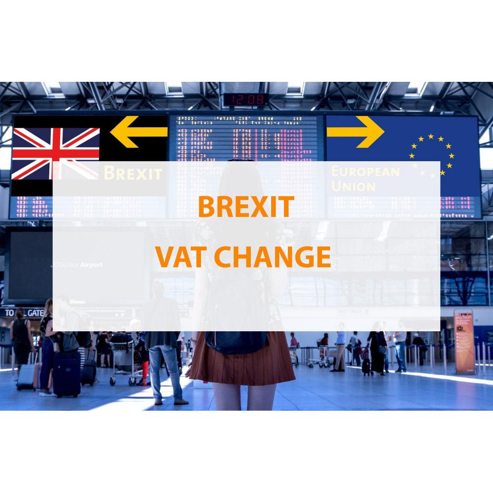 module - Prijsbeheer - Brexit VAT change - 1