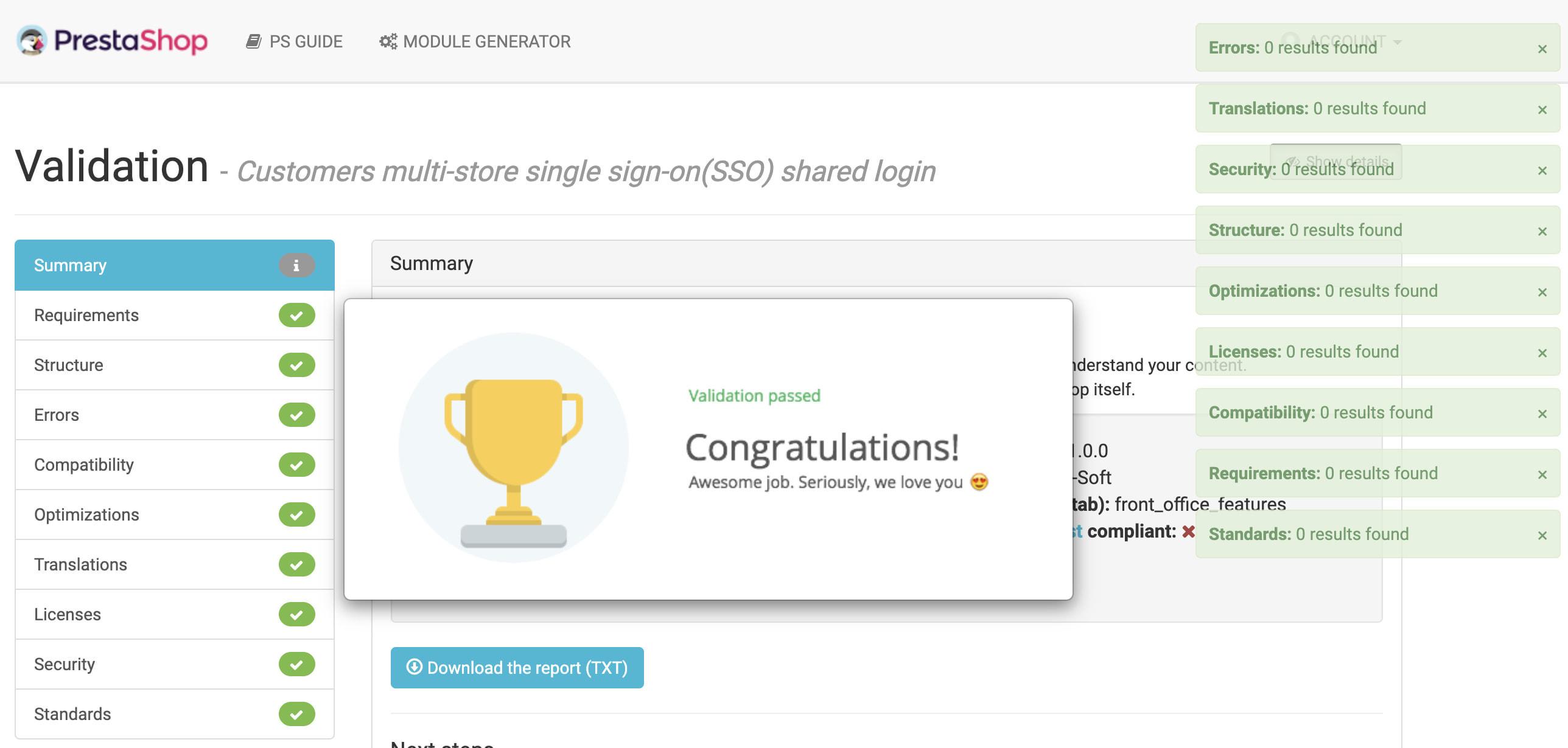 module - Customer Service - Customers multi-store single sign-on(SSO) shared login - 7