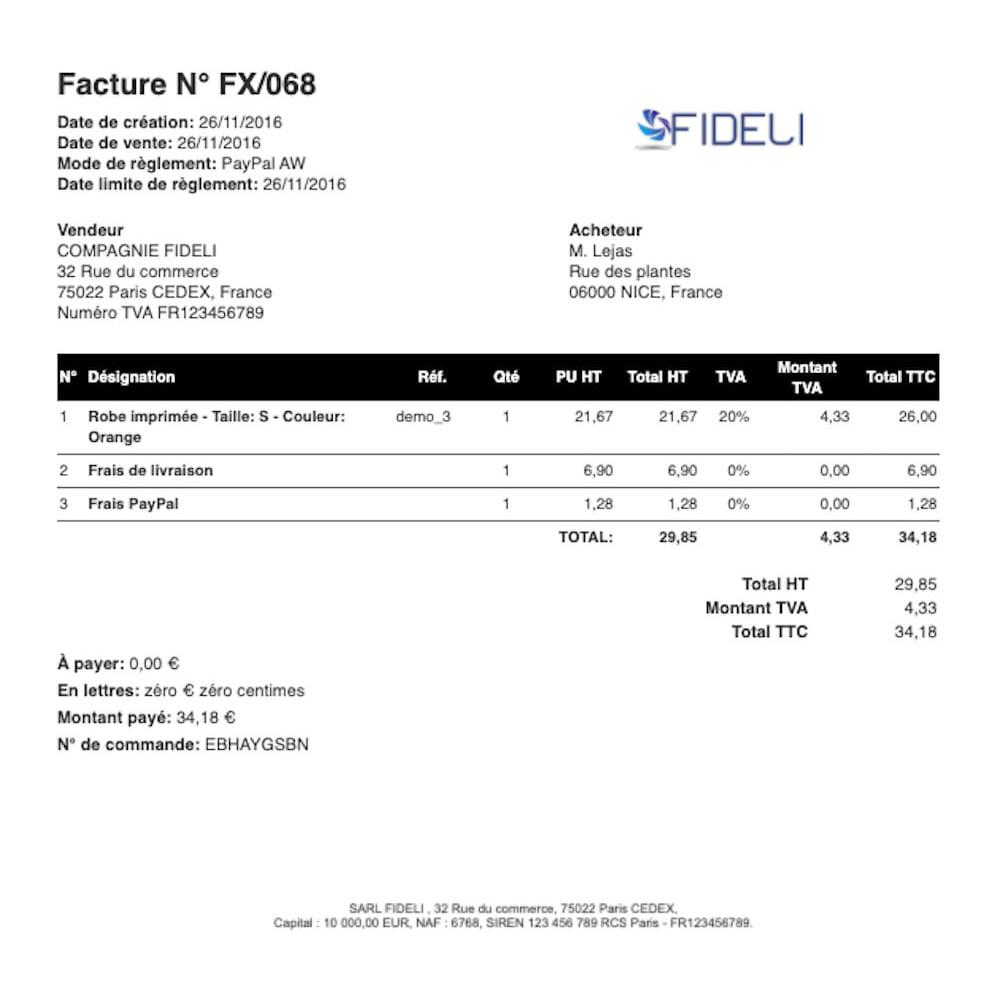 module - Contabilità & Fatturazione - VosFactures - Invoicing Multifunction - 3