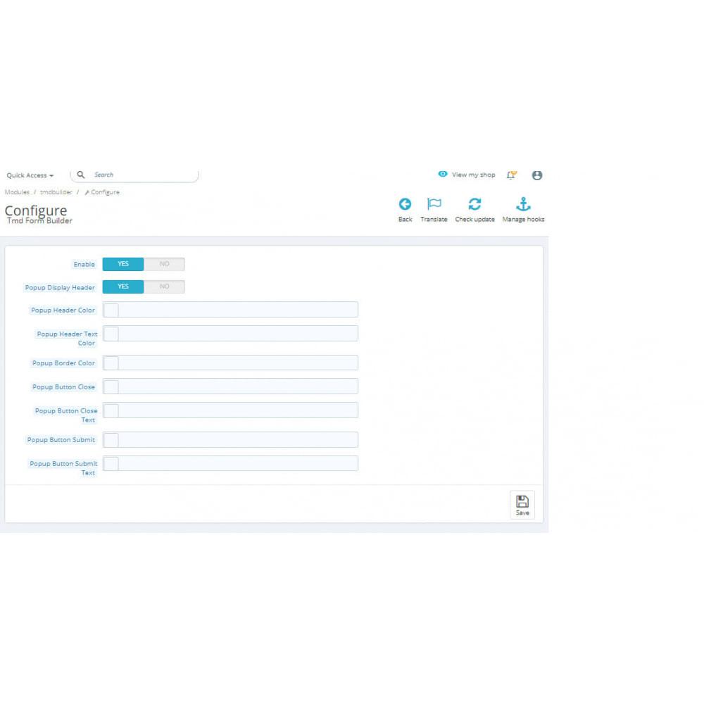 module - Formulario de contacto y Sondeos - Form Builder Pro - 1