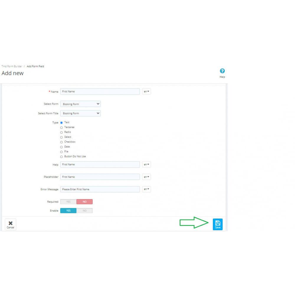 module - Formulario de contacto y Sondeos - Form Builder Pro - 7