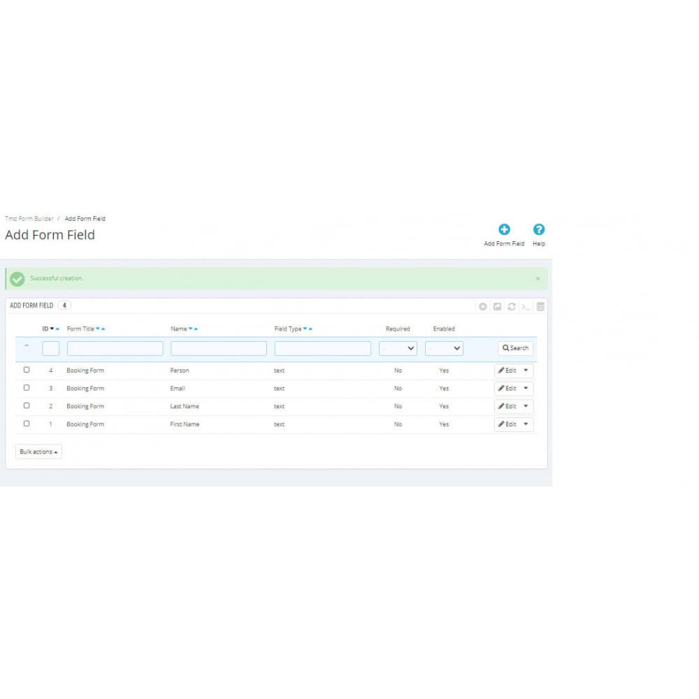 module - Formulario de contacto y Sondeos - Form Builder Pro - 8