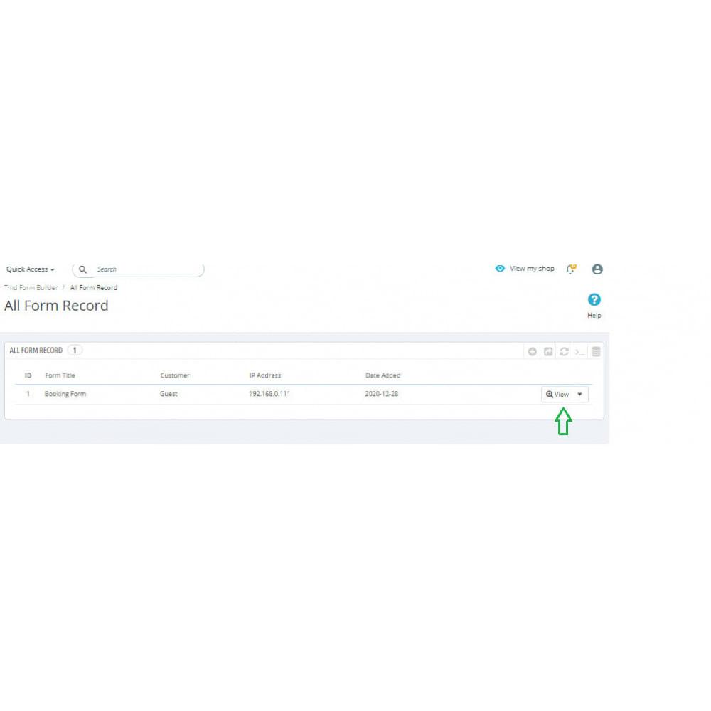 module - Formulario de contacto y Sondeos - Form Builder Pro - 14