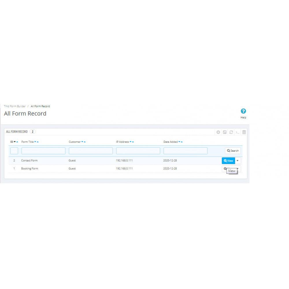 module - Formulario de contacto y Sondeos - Form Builder Pro - 18