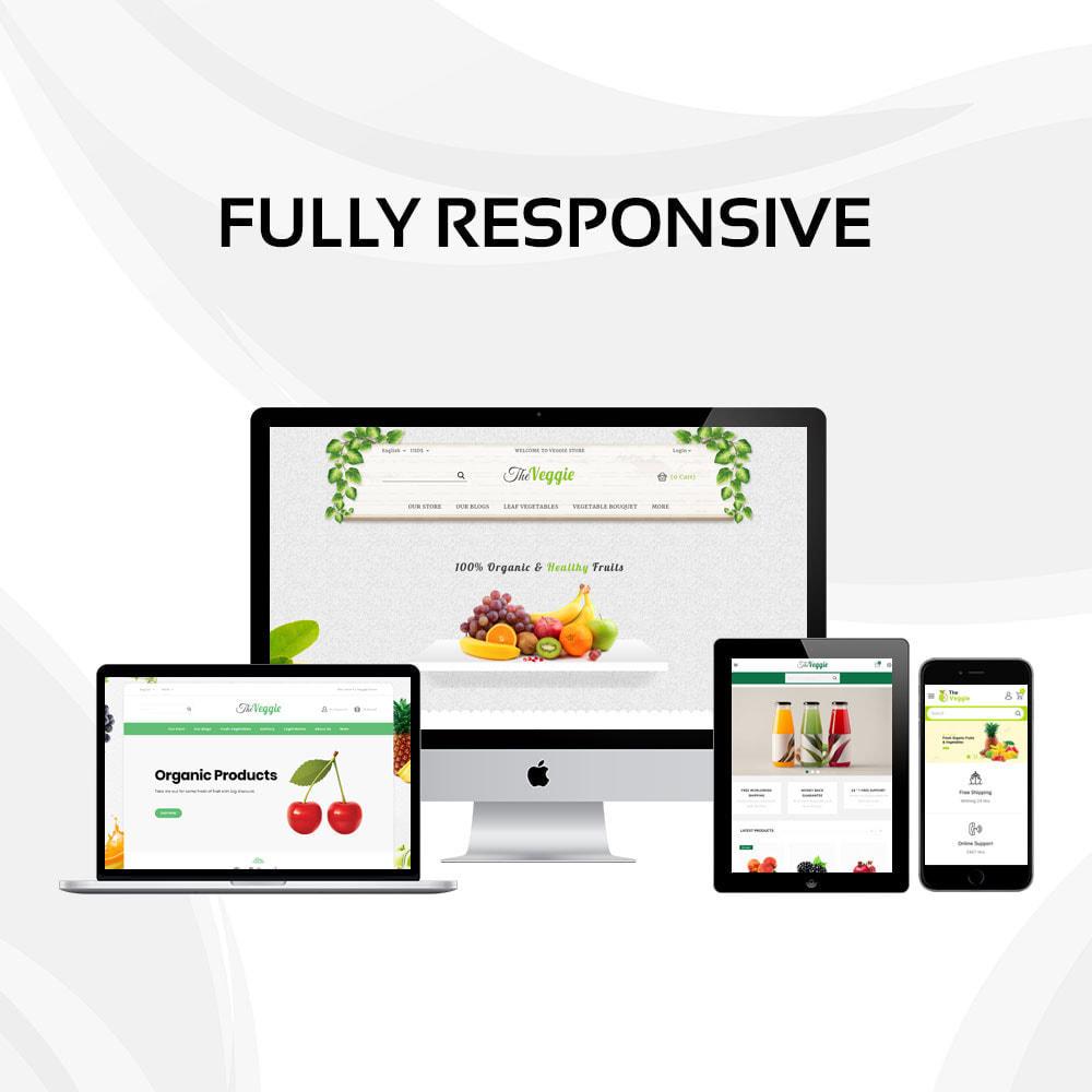 theme - Żywność & Restauracje - Veggie  - The Organic Store - 2