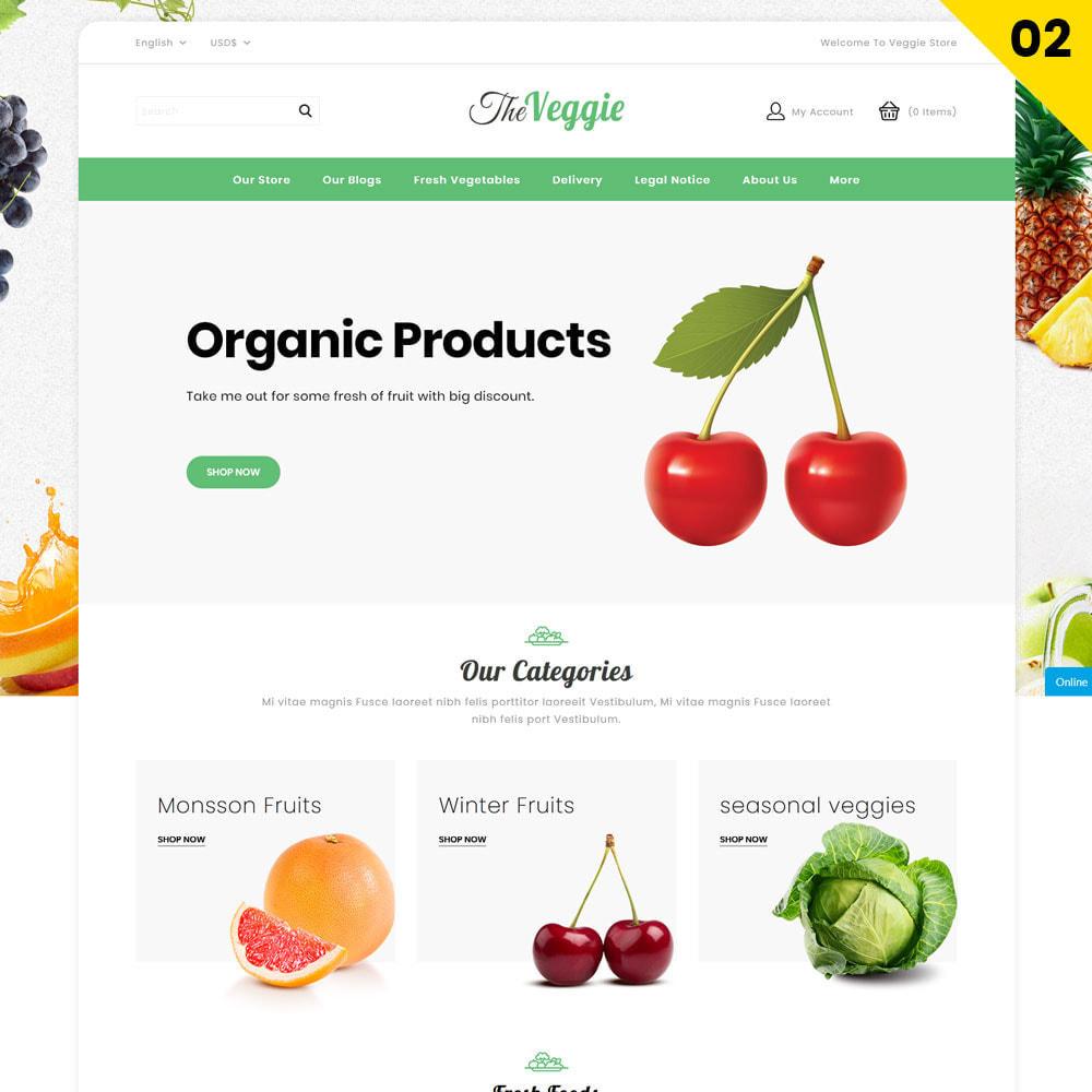 theme - Żywność & Restauracje - Veggie  - The Organic Store - 4