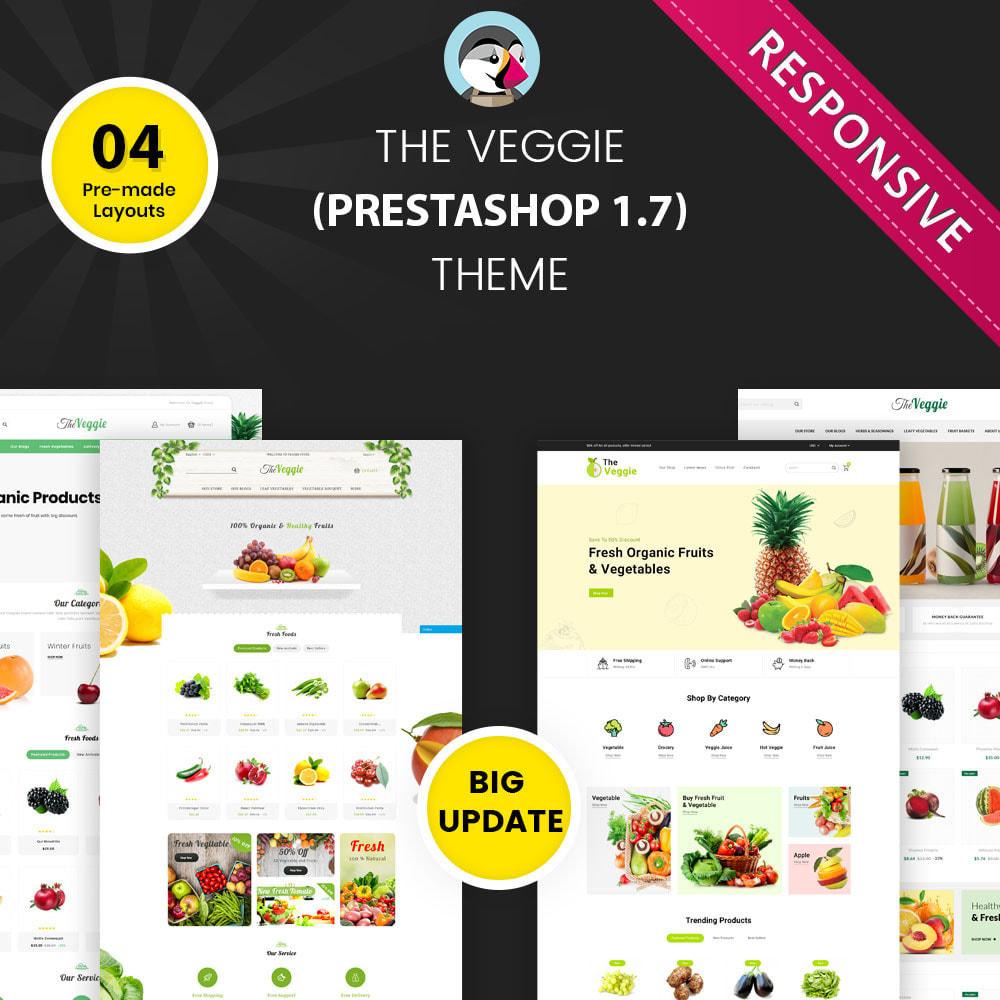 theme - Alimentation & Restauration - Veggie - Le magasin bio - 1