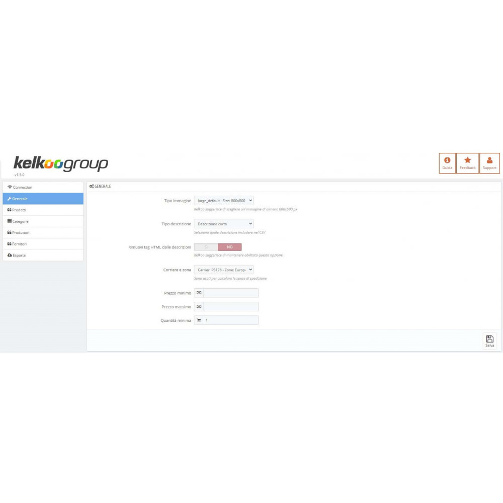 module - Porównywarki cen - Kelkoo Group Feed Exporter - 1