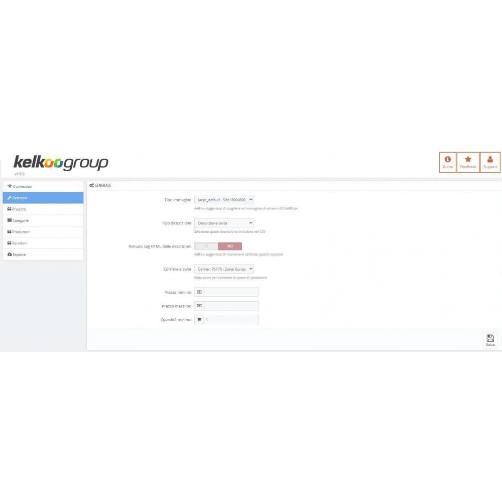 module - Comparatori di prezzi - Kelkoo Group Feed Exporter - 1