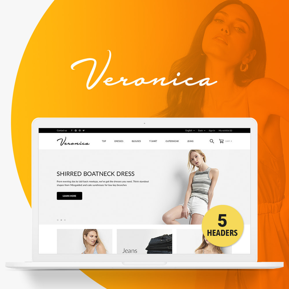 theme - Mode & Chaussures - Veronica Fashion Store - 1