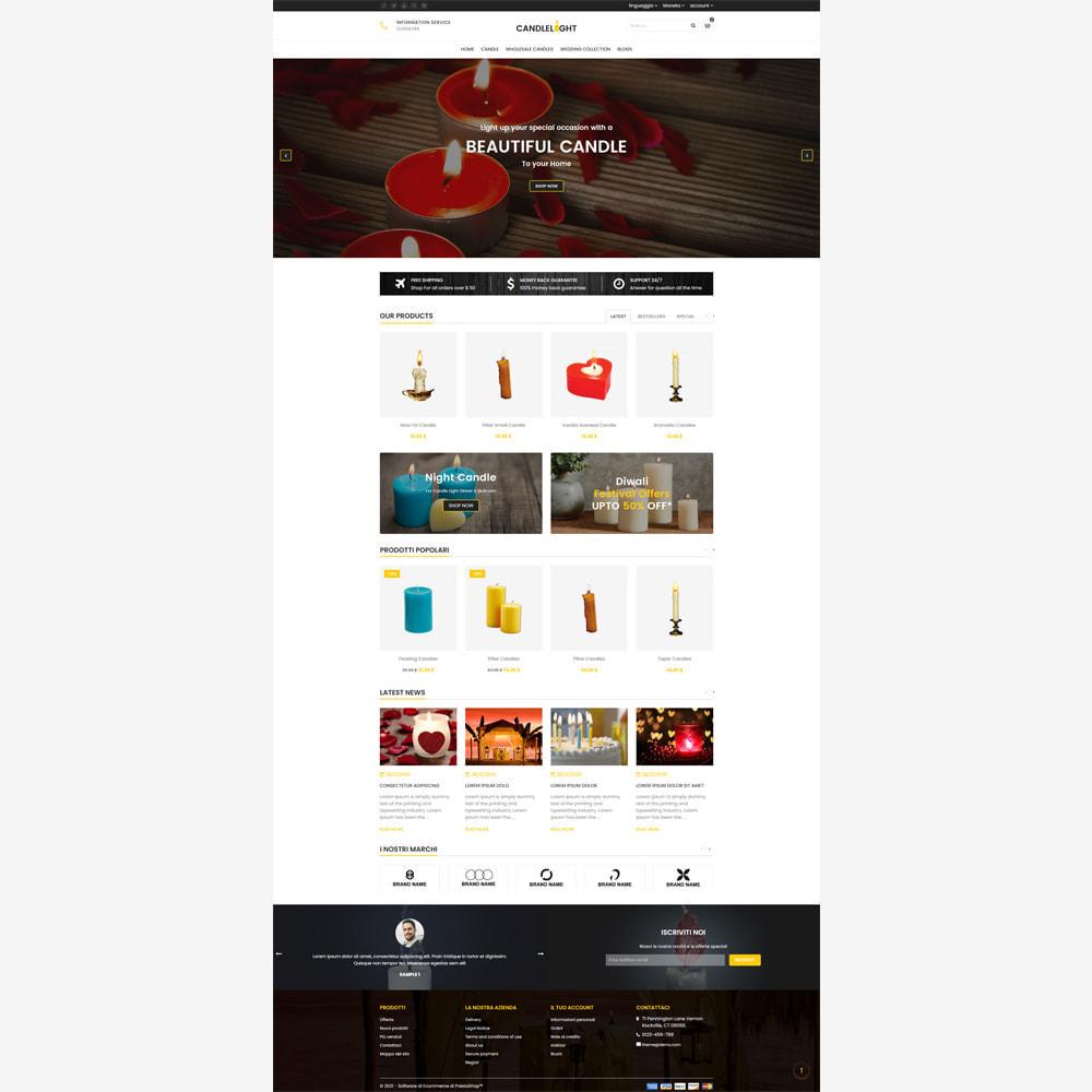 theme - Regali, Fiori & Feste - Candela - Responsive Store - 2