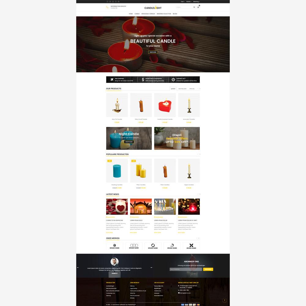 theme - Cadeaus, Bloemen & Gelegenheden - Candle - Responsive Store - 2