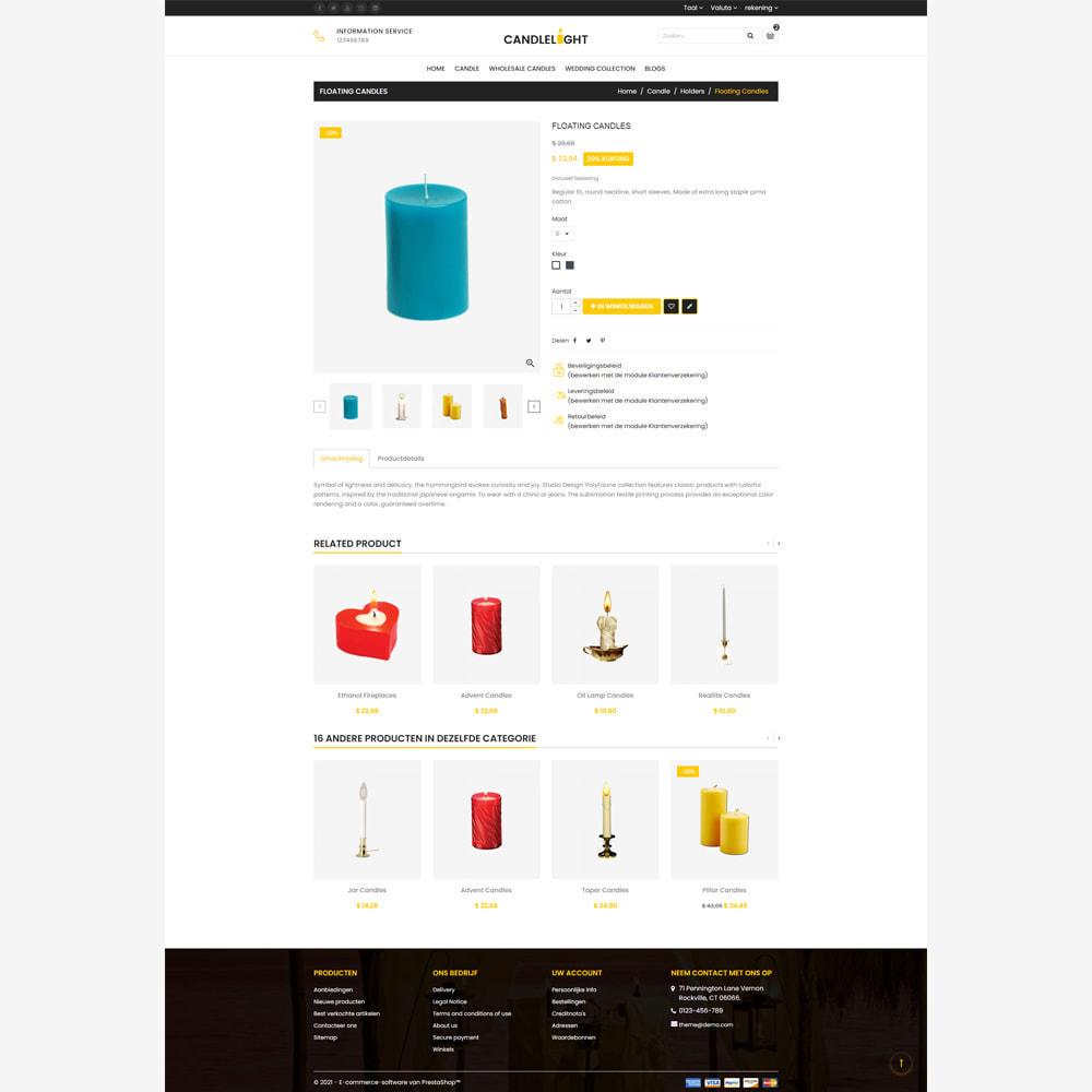 theme - Cadeaus, Bloemen & Gelegenheden - Candle - Responsive Store - 4