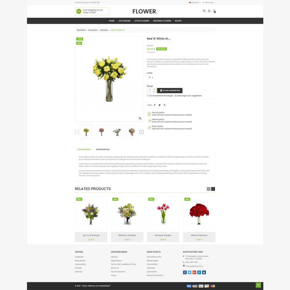theme - Geschenke, Blumen & Feiern - Blumenladen - 4