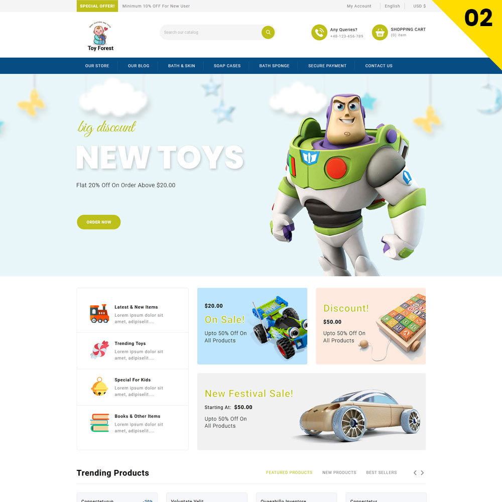 theme - Zabawki & Artykuły dziecięce - ToyForest - The Mega Kid Store - 4